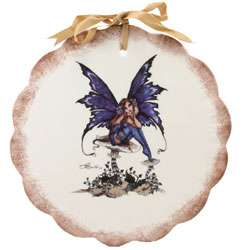 Amy Brown Fairy Hand painted Wall Hanging