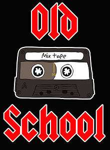 Tee Shirt Old School Cassette Tape Player 80s Tshirt 80 style