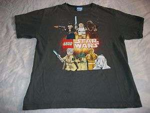 LEGO STAR WARS T SHIRTSIZE BOYS XLGRAYLEGO STAR WARS CHARACTERS