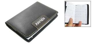 English Letter Paged Black A9 Phone Number Address Book