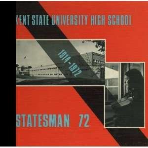 ) 1972 Yearbook Kent State University (High School Program), Kent
