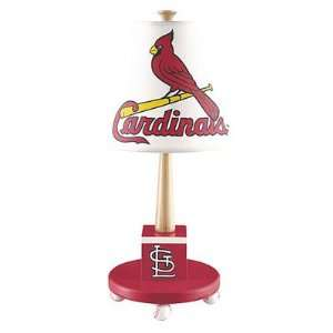 St. Louis Cardinals MLB Wooden Table Lamp