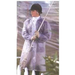 3/4 Length PVC Clear Rain Jacket