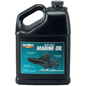 DIESEL 15W40 GAL 6/CS HEAVY DUTY MARINE DIESEL ENGINE OIL Sports