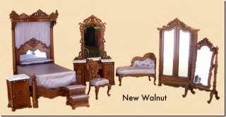 Dolllhouse Miniature Bespaq Madams Bedroom Suite