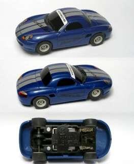 2009 Micro Scalextric PORSCHE BOXSTER Blue HO SLOT CAR
