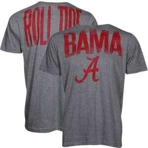 NCAA Alabama Crimson Tide Ash Highway T shirt  Sports