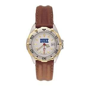 Duke Blue Devils Ladies NCAA All Star Watch (Leather Band)