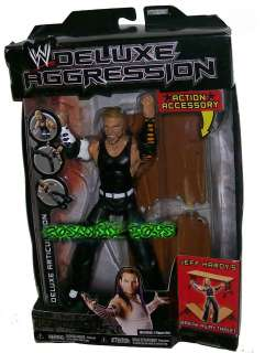 WRESTLING DELUXE AGGRESSION SERIES 7 WITH ACTION ACCESSORY JEFF HARDY
