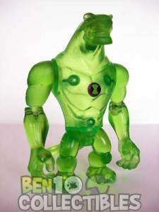 Ben 10 Alien Force Action Figure   CLEAR Humungousaur