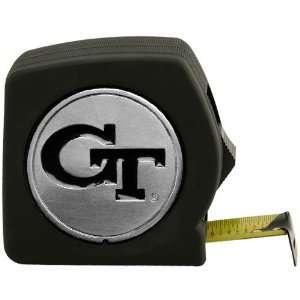 Georgia Tech Yellow Jackets 25 Black Team Logo Tape Measure