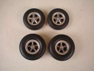 18 Highway 61 Torque Thrust Drag Racing 5 Spoke Wheel Set With