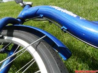 Schwinn Meridian Blue Adult 3 Wheel Aluminum Cruiser Bicycle Bike