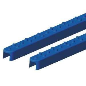 Sno Bug Squre Style Rail Grips   Blue Automotive