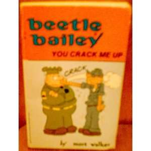 Beetle Bailey You Crack Me Up! (9780812560862) Mort