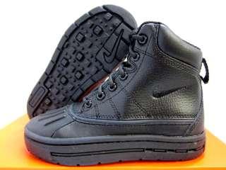 NEW NIKE KIDS ACG WOODSIDE BOOTS [415079 001] BLACK