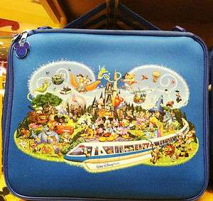 Walt Disney World Storybook Character Mickey Large Pin Trading Bag