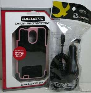 case Samsung Galaxy S ll 2 epic touch 4g Pink Sprint FREE CHARGER