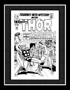 Jack Kirby Thor Journey Into Mystery #109 Production Art Cover