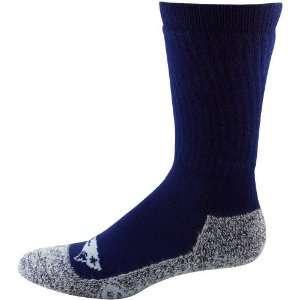 Patriots Mens Navy Blue Gray Wool Trekker Socks