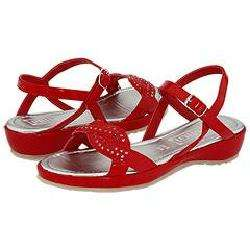 Primigi Kids Yesim (Toddler/Youth) Red Patent Sandals