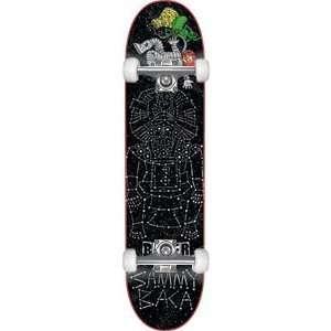 Super Jack Complete Skateboard   8.19 W/Raw Trucks: Sports & Outdoors