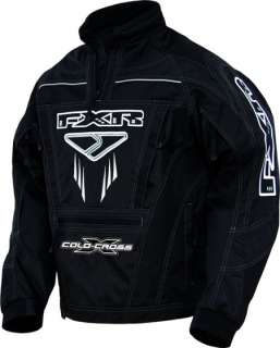 FXR COLD CROSS PULLOVER SNOWMOBILE JACKET COAT BLACK S
