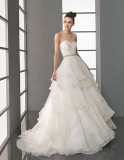 New white/ivory A Line Sweetheart Pleated wedding dress Wedding Gown