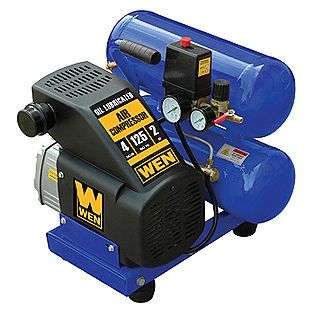 Gallon 2HP Twin Tank Air Compressor  Wen Tools Air Compressors & Air
