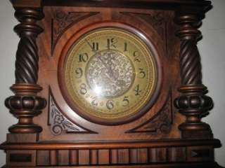 Beautiful Antique German Wall Clock Circa 1800s