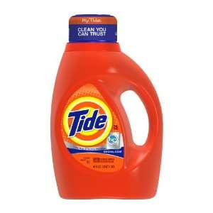 Tide Original Scent, for High Efficiency Machines, with Actilift, 25