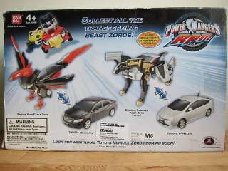 Power Rangers RPM Toyota Camry Engine King Eagle Zord