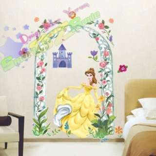 DISNEY CINDERELLA PRINCESS ♥ GIANT WALL DECAL STICKER