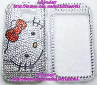 Hello kitty Bling Case Cover For Samsung Transform M920 #3