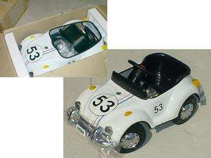 Herbie The Love Bug VW Beetle Pedal Car Ride ON   Will Ship