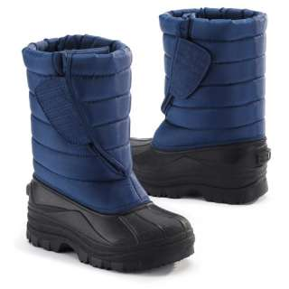 Toddler Boys Quilted Winter Boots Shoes
