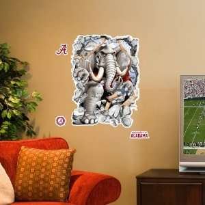 NCAA Alabama Crimson Tide 3 Mascot Wall Crasher