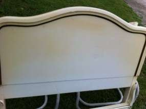 Vintage Twin French Provincial Bed Frame Cottage Chic