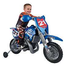 Febercross SXC 6 Volt Dirt Bike   Feber