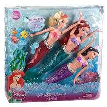 Disney Princess The Little Mermaid Doll 3 Pack   Mattel   Toys R