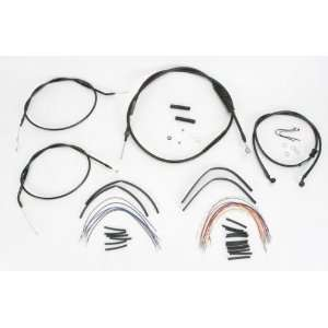 Burly B30 1007 Cable/Brake Line Kit for 12 Height