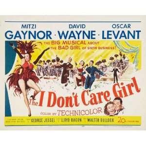 Girl Poster Movie Half Sheet 22 x 28 Inches   56cm x 72cm Mitzi Gaynor