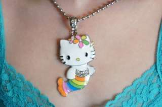 HELLO KITTY MERMAID NECKLACE WITH SWAROVSKI CRYSTAL