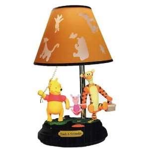 Winnie the Pooh & Friends Animated Lamp TS L8840