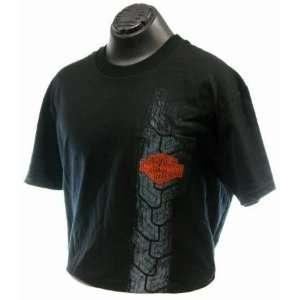 Maui Harley Davidson Mens After Burner Black T Shirt (2X