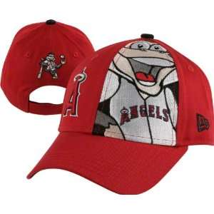 Angels of Anaheim Kids New Era Big Mascot 9Forty Adjustable Hat