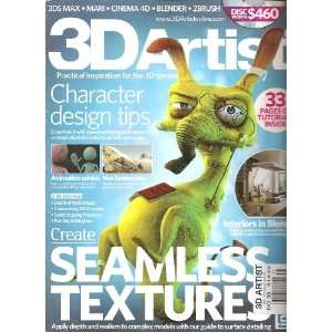 3D Artist Magazine (No. 38 2012): Various:  Books
