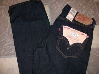 LEVIS 501 STRAIGHT LEG BUTTON FLY JEANS MENS 31X32 STYLE 005010838