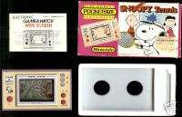 NINTENDO GAME & WATCH HANDHELD SNOOPY POCKETSIZE BOX