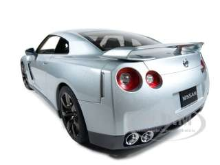 2009 NISSAN GT R (R35) PREMIUM ED SILVER 112 DIECAST CAR MODEL BY